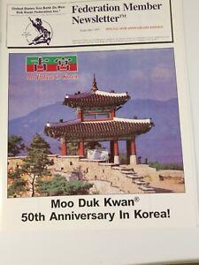 Tang Soo Do Soo Bahk Do Moo Duk Kwan Hwang Kee 50th Anniversary Newsletter