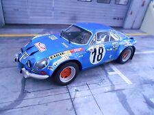 RENAULT A110 Alpine Rallye Monte Carlo Winner 1973 #18 Andruet IXO Altaya 1:18