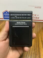 Radio Shack Digital AM/FM Radio Pocket Radio 12-102----work tested--no batteries