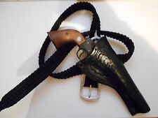 Cowboy/Western  Cross draw Leather Holster for Ruger Single Six 5-1/2 to 6 -1/2