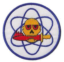 Patch brodé écusson patche atomic nucléaire Atome thermocollant