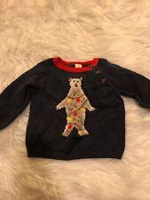 tucker tate Christmas bear sweater 6 months