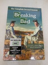 BREAKING BAD - The Complete Second Season - DVD 2010 - 4-Disc Set - NEW