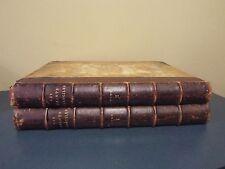 Elephant Folio - 2 Vol - French Bible-1873 - Printed in Paris -128 lg engravings