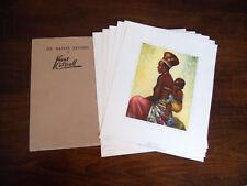 Six Native Studies by Kent Cottrell African Art Prints E. Schweickerdt Pretoria