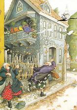 Kunstkarte: Inge Löök - Frauen im Herbst / Nr. 35