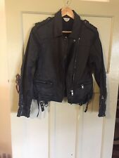 Witchery Biker Jacket Size 12