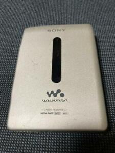 WM-EX651 Sony Walkman Silver Cassette tape Adjustable playback speed