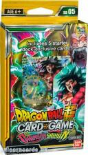 DragonBall Super Card Game - The Crimson Saiyan Starter Deck :: Brand New And Se