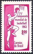 Brazil 1963 World Basketball Championships/Sport/Games 1v (n24601)