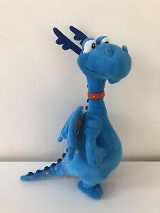 Original Disney Store Disney Doc McStuffins Blue Dragon plush soft toy