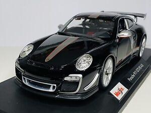 Maisto 1/18 Diecast Special Edition Porsche 911 GT3 RS 4.0 Black (SALE)