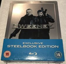 The Sweeney Steelbook - Limited Edition Blu-Ray (Slightly Dented Case)