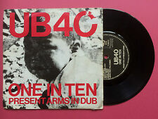 UB40 - One In Ten / Present Arms In Dub, DEP 7-DEP-2 Ex Condition
