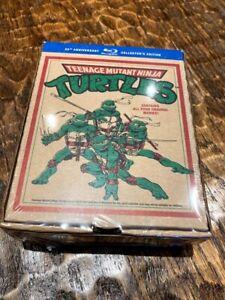 Teenage Mutant Ninja Turtles 25th Anniversary 4-Film Collection BLU-RAY SET NEW