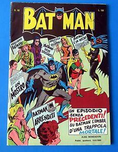 BATMAN #68 COMIC BOOK ITALIAN VARIANT ~ 1969 SILVER AGE ~  VF-