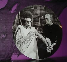 HUGE Frankenstein Bride of  Collector plate platter Universal Monsters Licensed