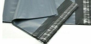 """10 x 14"""" Strong Grey Mailing Bags Poly Postage Post Mail Self Seal Pack of 100"""