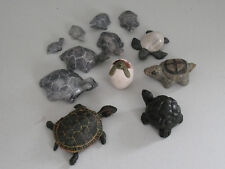 12 Piece Some Marble Turtle Collection Various Sizes