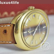 luxus4life: Vintage Jäger Le Coultre MasterQuarz vergoldet - Sammlerstück