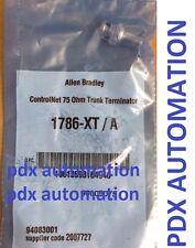 Allen Bradley 1786XT ControlNet 75 Ohm Trunk Terminator Catalog 1786-XT /A