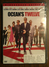Ocean's Twelve DVD NEW Widescreen WS Dolby Digital DD