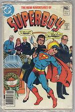 """Dc Comics' The New Adventures of Superboy vol.1 8 """"Clark Kent Must Die!"""" 1980"""
