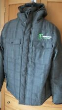 Monster Energy Hooded Snowboard Jacket Coat Mens  2XL XXL  New wo TAgs..