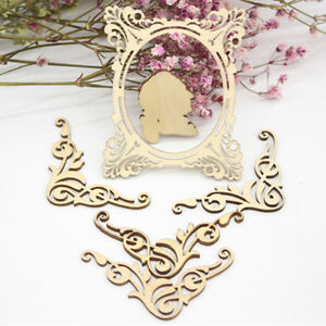 DIY Laser Cutting Wooden Embellishments for Scrapbooking Cardmaking Craft Mold