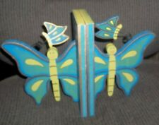 Wooden Butterfly Book - Ends* Unique* New* Never Used