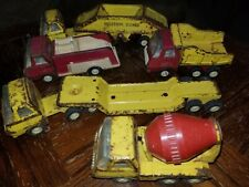 "Vintage ""Tiny"" Tonka Lot Construction Fire Truck"