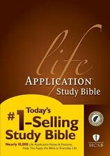 HCSB Life Application Study Bible (2014, Hardcover)