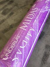 Carpenter Midas 12mm Carpet Underlay 2 Full Rolls - 30 square metres m²