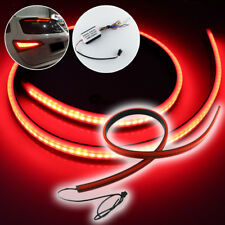 "Universal High Mount LED 3rd Brake Light Lamp 40"" Red Slim Strip"