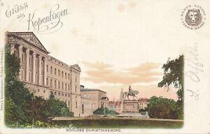 CHRISTIANSBORG–Schloss Christiansborg Gruss Aus Kopenhagen –Copenhagen –Denmark