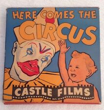 Castle Films 16mm HERE COMES THE CIRCUS