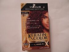 Schwarzkopf Keratin Color Intense Caring Color with K-Bond Color Crimson 9.89