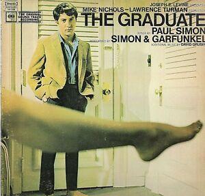 "Simon & Garfunkel : The Graduate - Vinile 33 giri e 12"" originale 1968"