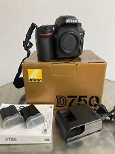 Nikon D750 24.3 MP SLR-Digitalkamera - Vollformat (Nur Gehäuse / Body)