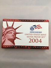 2004 United States MintSilver Proof Set - 11 Coins w/COA