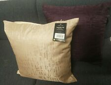 Richmond House Designer collection Cushion covers 45x45 Plum& Gold