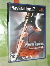 """"""" DYNASTY WARRIORS' 4 XTREME LEGENDS """" PS2"""