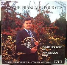 Daniel Bourgue & Annie D'Arco - Musique Francaise Pour Cor LP Mint- REM 10924