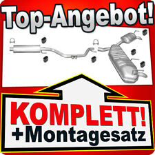 Auspuff OPEL VECTRA C 2.0 Turbo 2.2 direct 3.0 3.2 V6 CDTi Auspuffanlage J13B