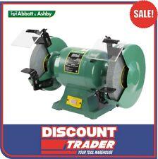 "Abbott & Ashby 600W 8"" 200mm Industrial Bench Grinder - ATBG600/8"
