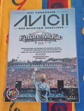 AVICII - 2013 Australia Tour - PERTH - Laminated Promo Poster