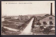 SIDI-ABDALLAH MORROCO Usine et Ateliers Flotte Fleet Factories 1943 Postcard