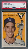 1954 Topps Set Break # 173 Jack Harshman PSA 5*OBGcards*