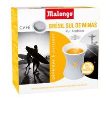 Malongo Espresso Brasilien 240 Pads,Kaffee,Cafe,Expresso,1,2,3 Spresso