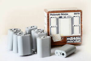 Märklin Z Gauge Mini Club 9 Pillar Bridge Abutments From 8979 (165372)